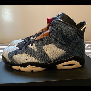"JORDAN 6 RETRO ""DENIM"" **Sz 10**"
